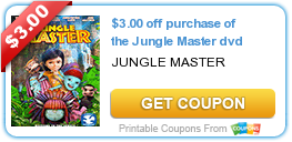 Tri Cities On A Dime: $3.00 COUPON ON PURCHASE OF THE JUNGLE MASTER DVD
