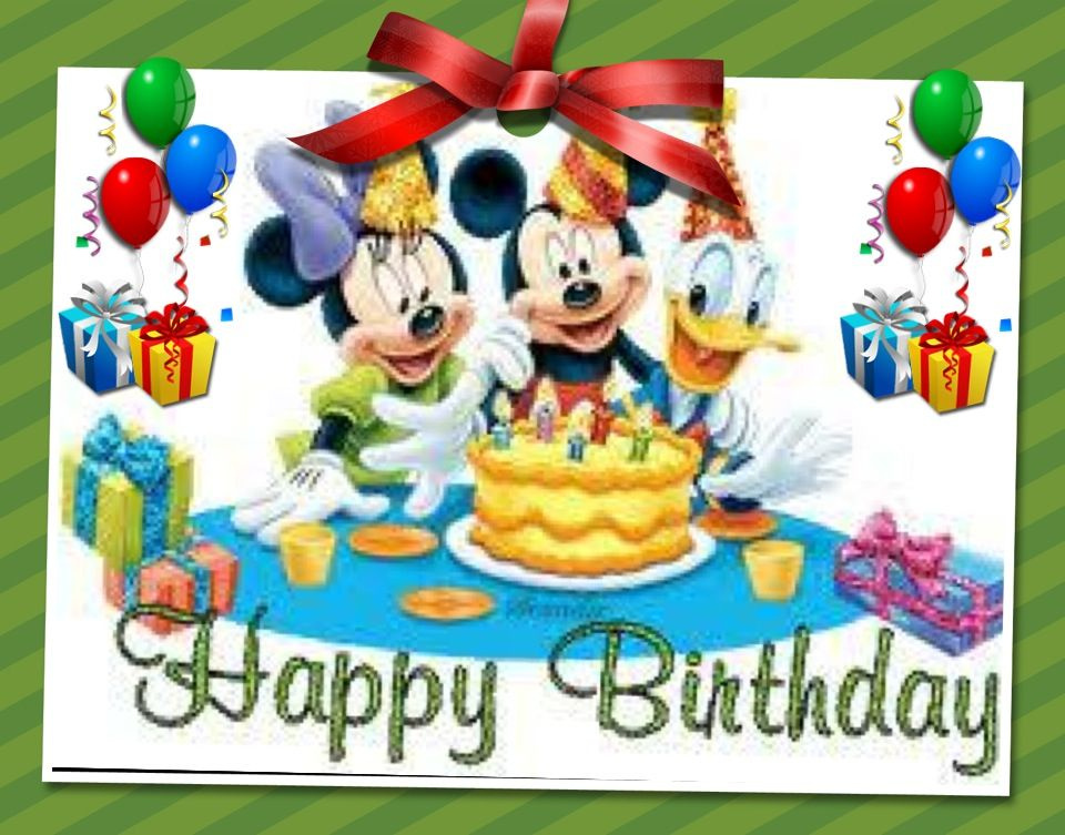 Happy Birthday Disney gang | Disney | Pinterest | Happy ...