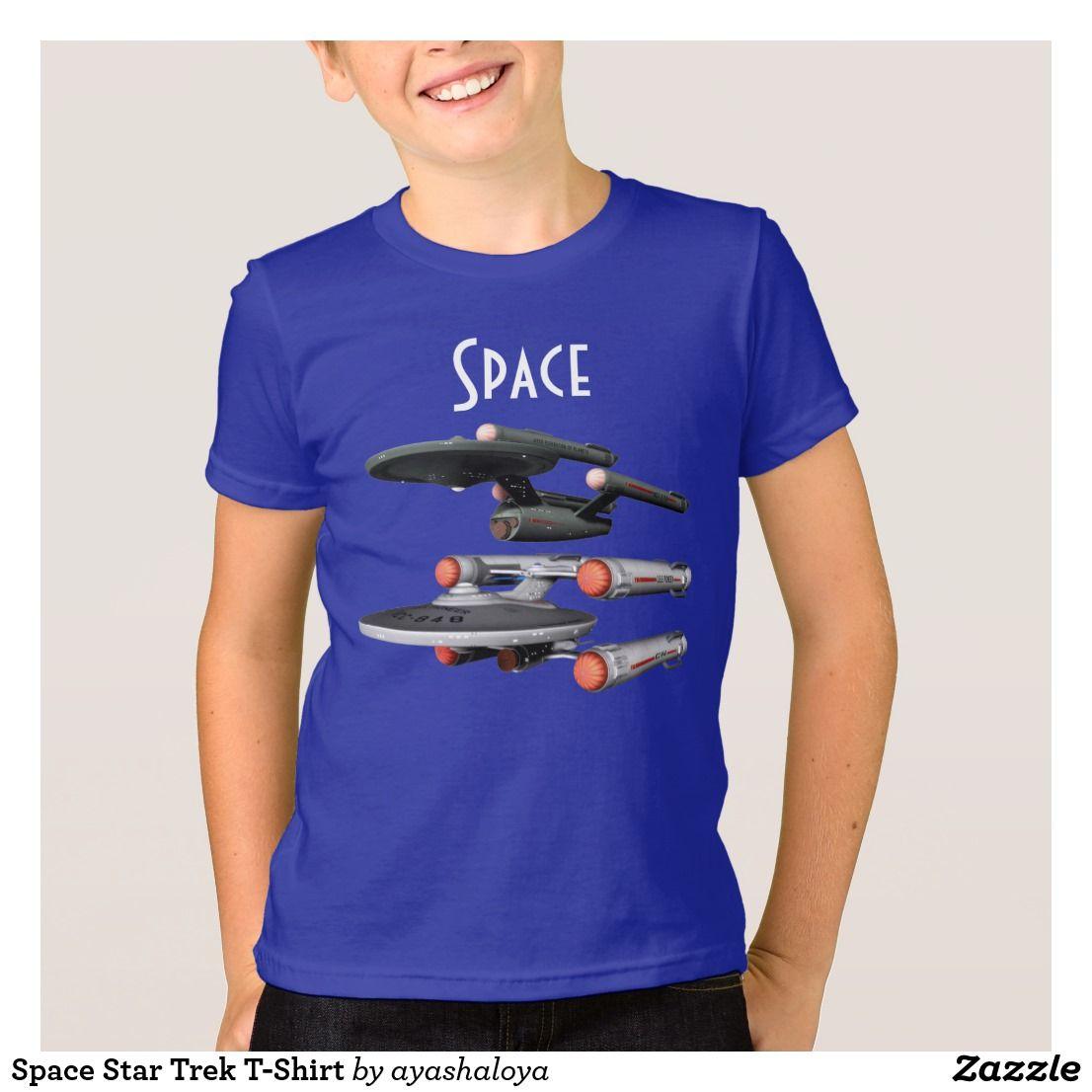 Space star trek tshirt star trek tshirt t