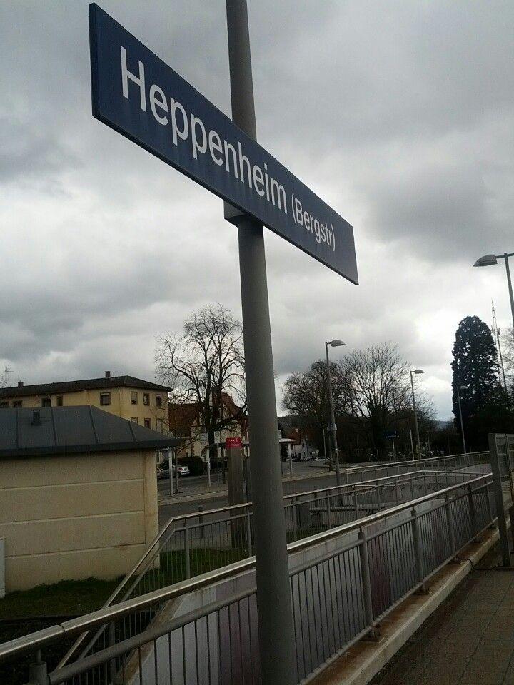 Bahnhof Heppenheim (Bergstr) in Heppenheim an der Bergstrasse, Hessen