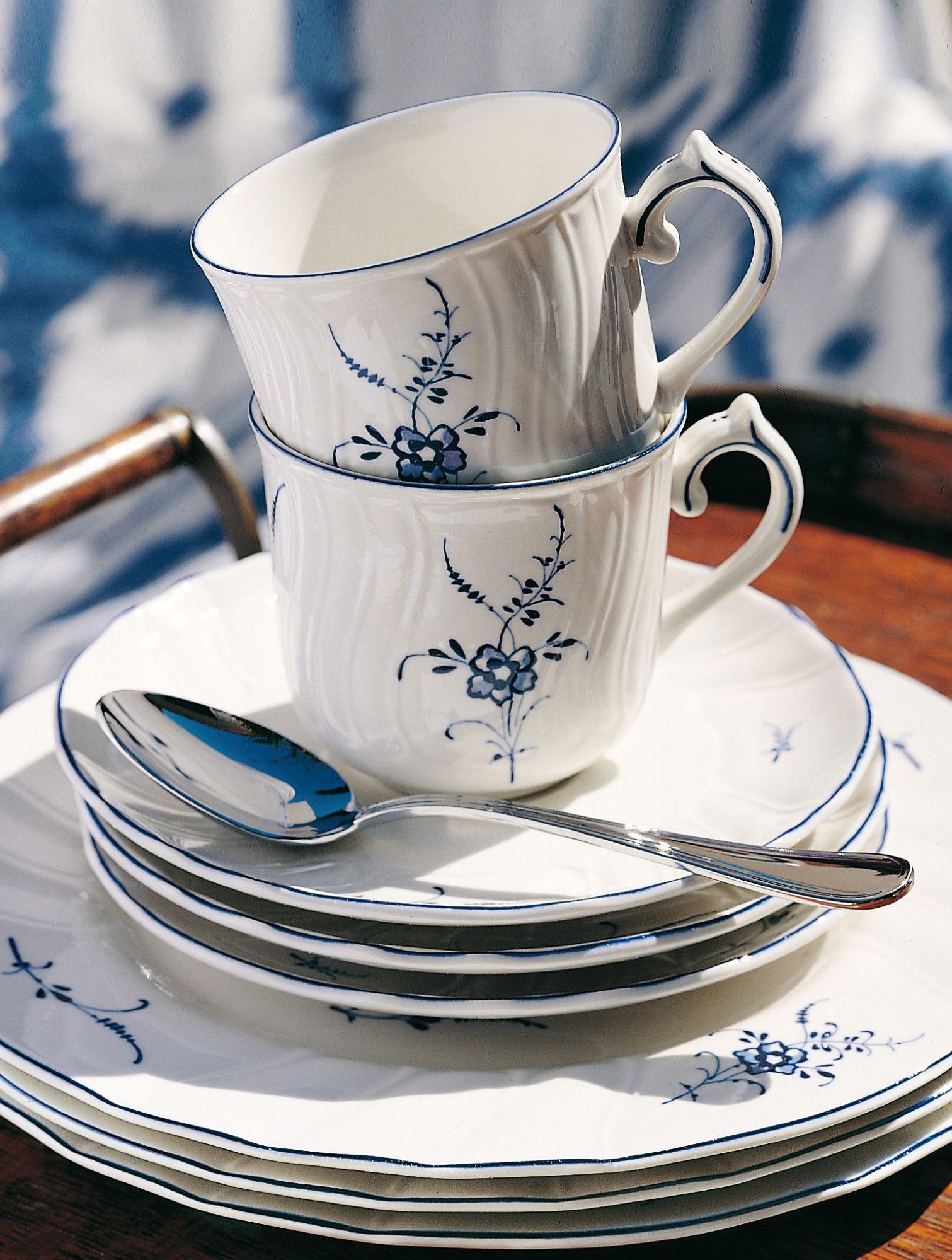 Villeroy Boch Old Luxembourg Vaisselle Vaisselle Porcelaine Art De La Table