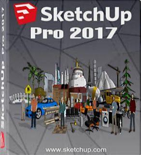 تحميل تفعيل برنامج سكتش أب 2017 Google Sketchup Pro 2017 Cnc
