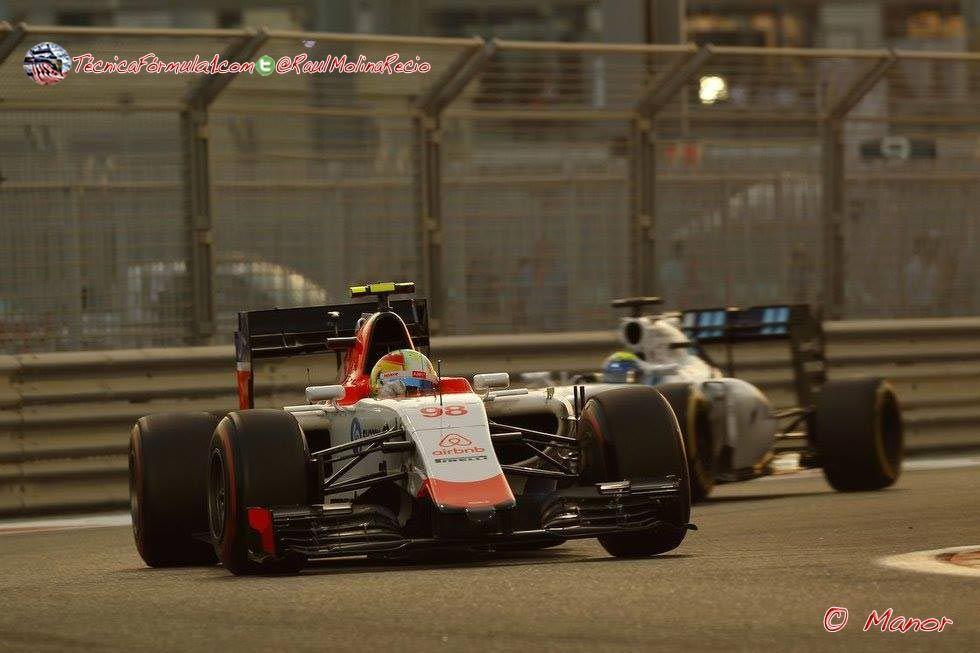 "Merhi: ""Vettel me ha hecho perder medio segundo"" #F1 #Formula1 #AbuDhabiGP"