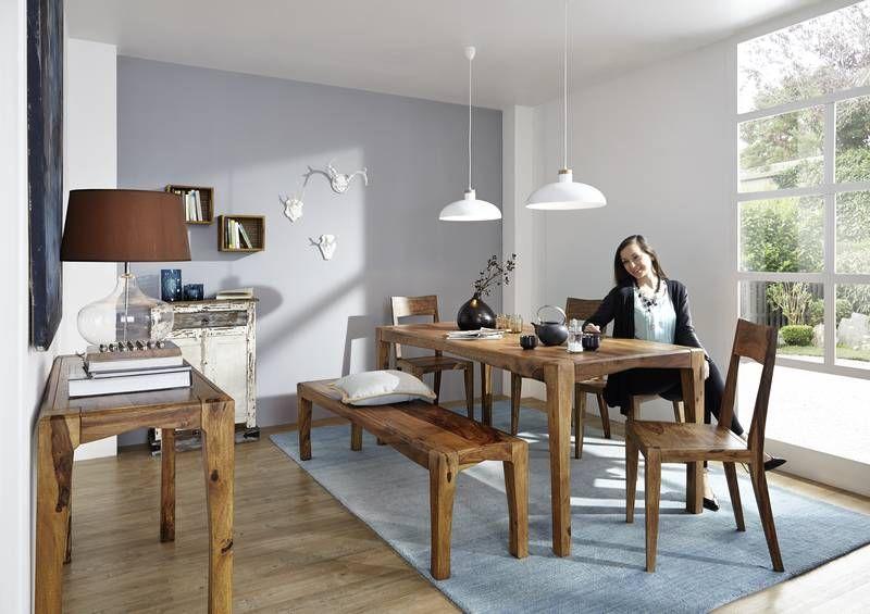 Einrichtung der Serie ANCONA von #massivmoebel24. Das wunderschön gemaserte Palisanderholz und der modern interpretierte Kolonialstil verbinden Gemütlichkeit mit Eleganz. #möbel #möbelstücke  #holz #echtholz #massivholz #wood #wooddesign #woodwork #homeinterior #interiordesign #homedecor #decor #einrichtung #furniture #ideas #wohnzimmer #livingroom #livingroomideas #palisander #sheesham #dreamhomes