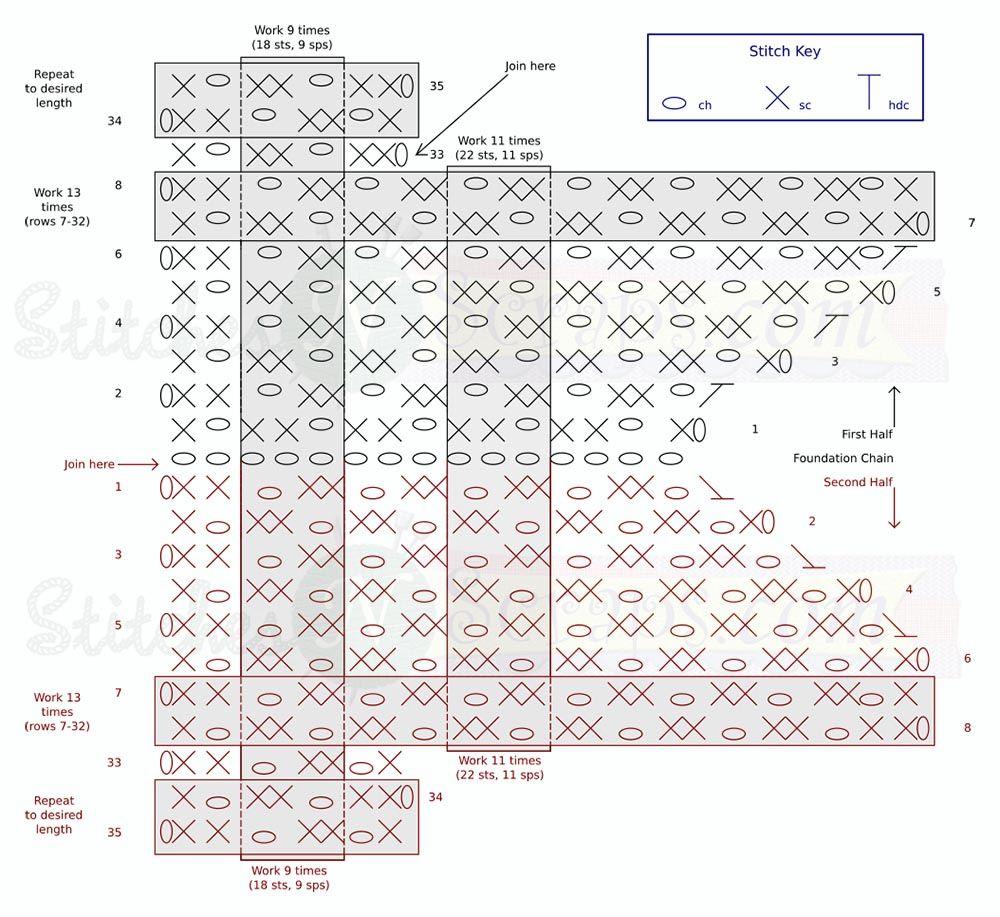 Darkness-chart.jpg (1000×917) | crochet | Pinterest