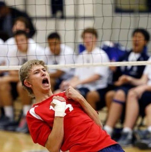 Hunter Taylor Named To 2017 Usa Men S Deaf National Volleyball Team Eastern Mennonite University Rvc Jrs 2013 With Images Volleyball Team Volleyball Sports