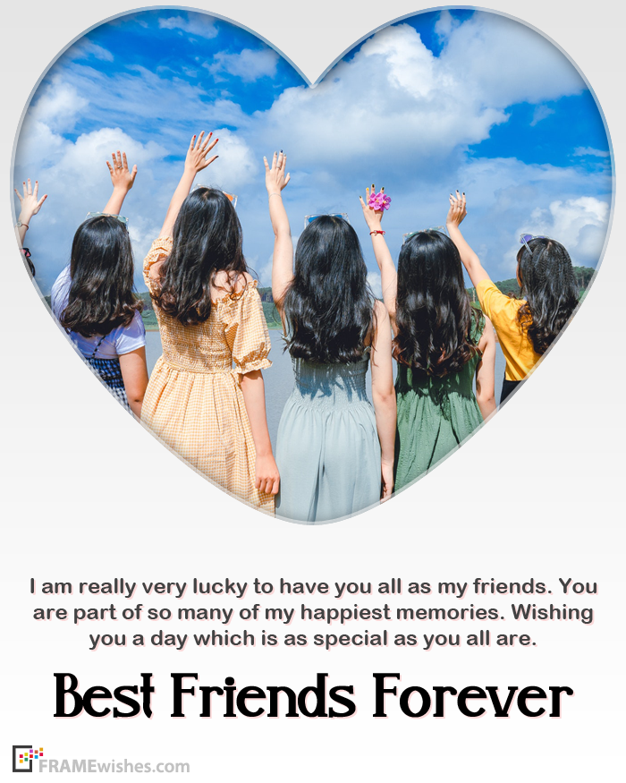 Happy Friendship Day Frames With Photo
