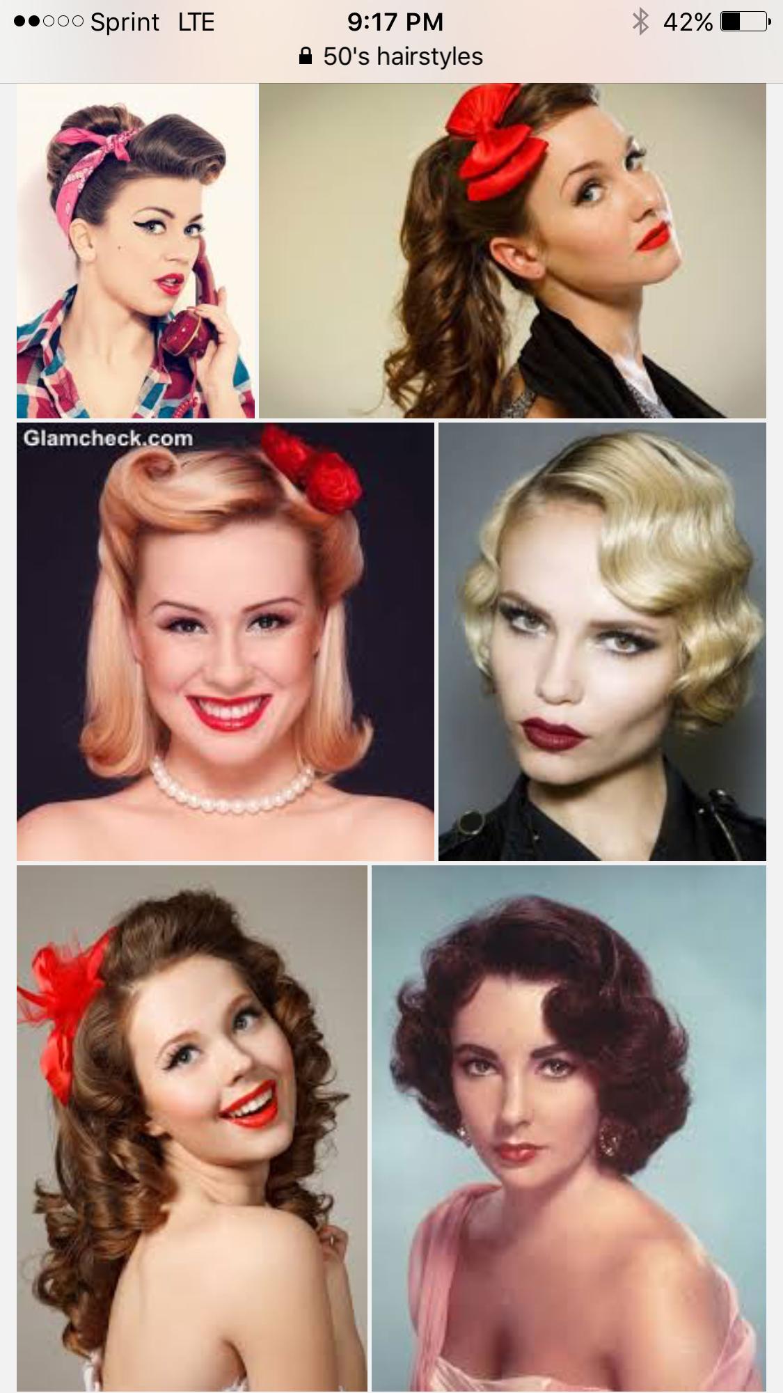 Cabelo Retro 1950s Fashion Hair Gorgeous Hair Retro Hairstyles