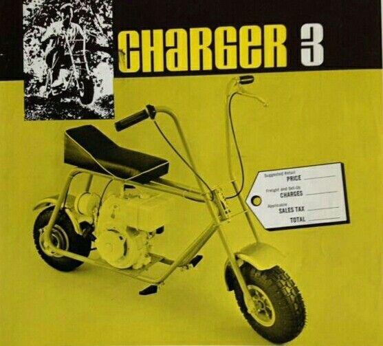 Charger 3 Minibike Mini Bike Go Kart Vintage Motorcycles