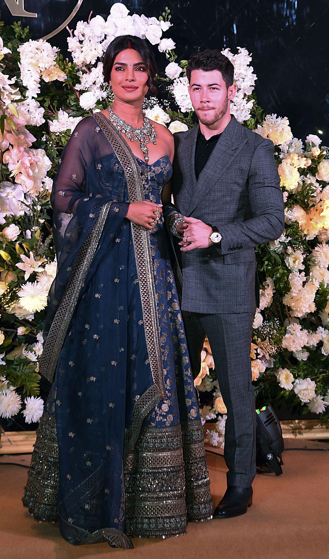 Priyanka Chopra Wore The Biggest Diamond Necklace To Her And Nick