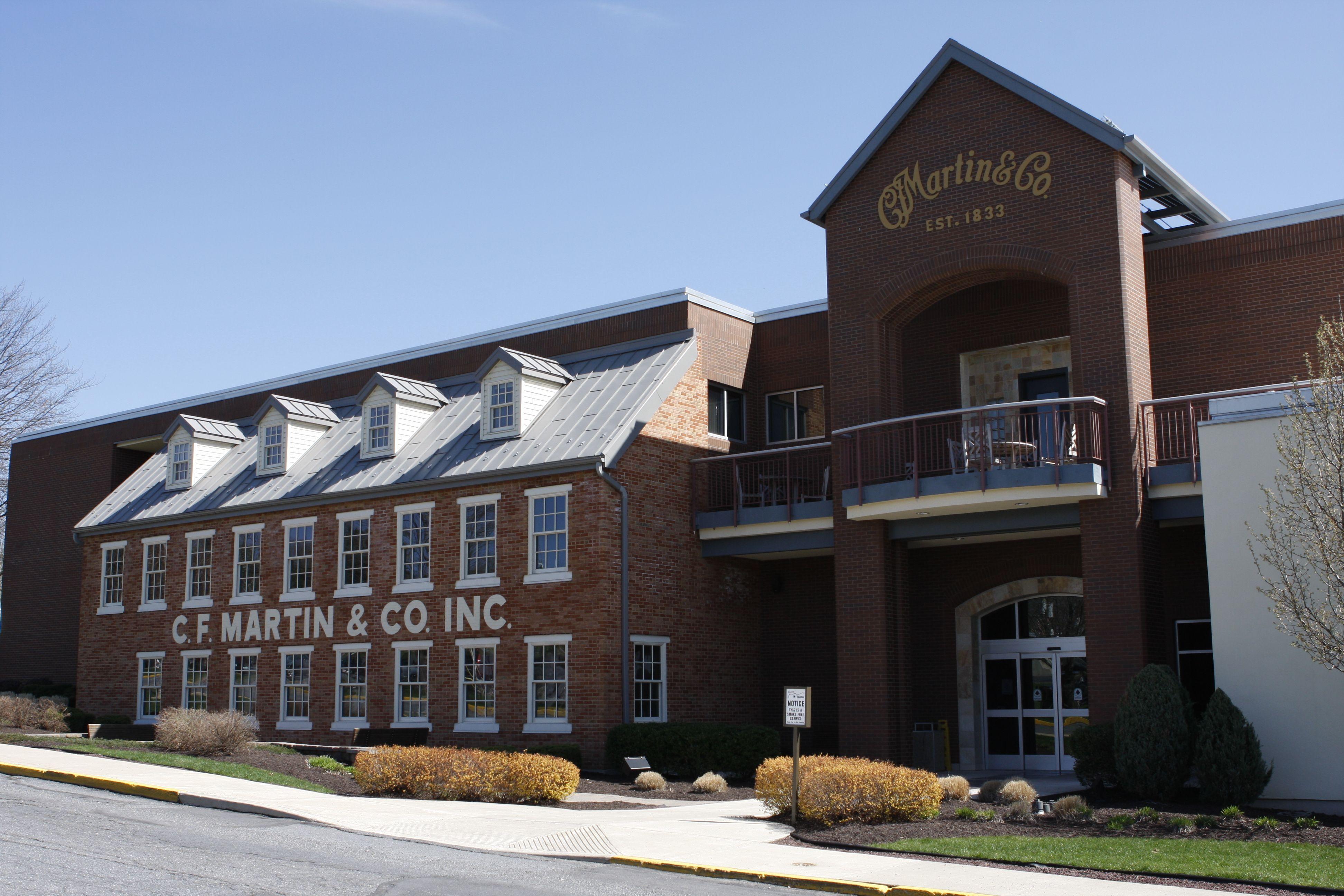 Martin guitar factory, Nazareth , Pennsylvania  Had the best