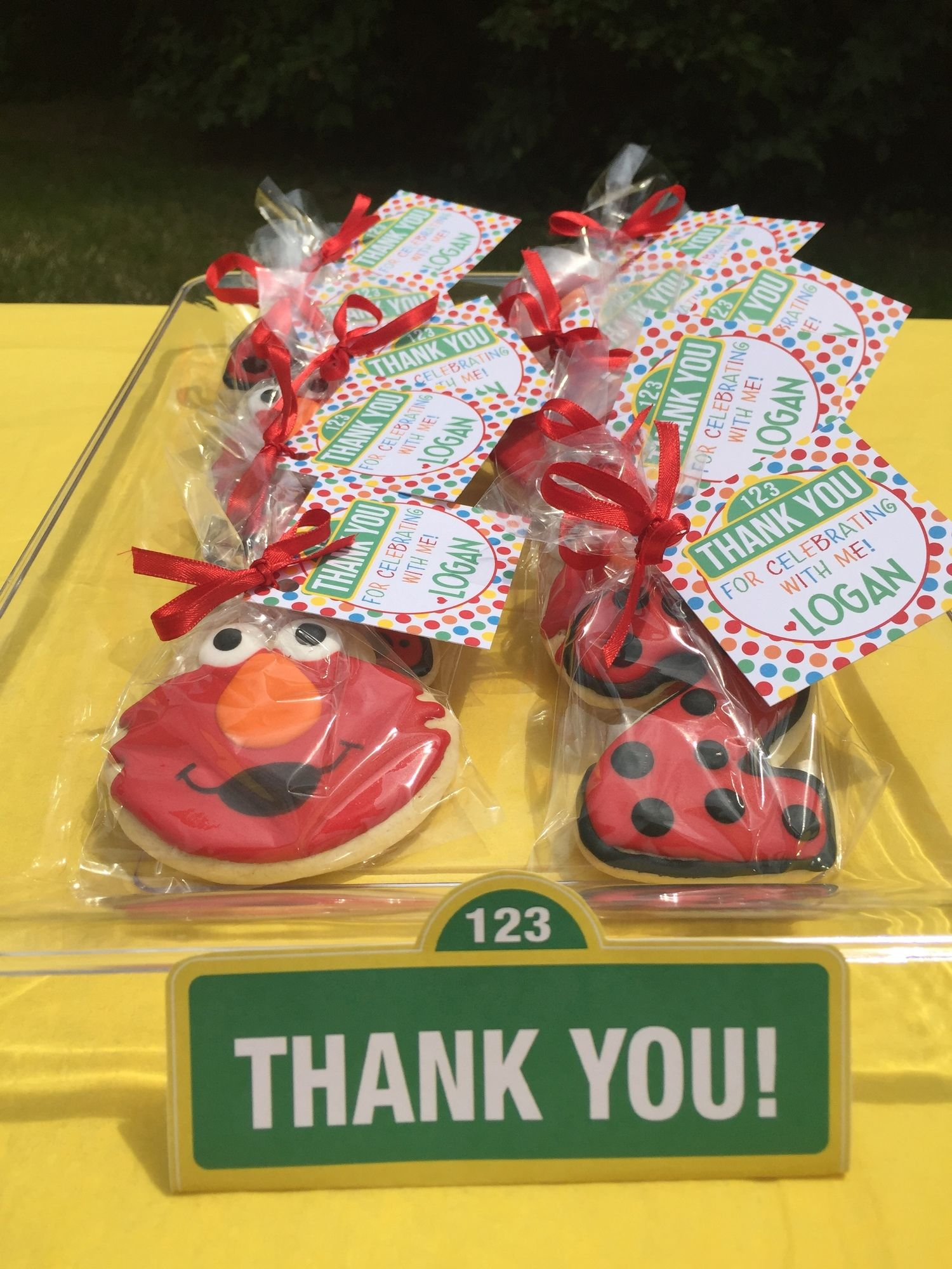 Elmo Party Decorations Favors 2nd Birthday Themes