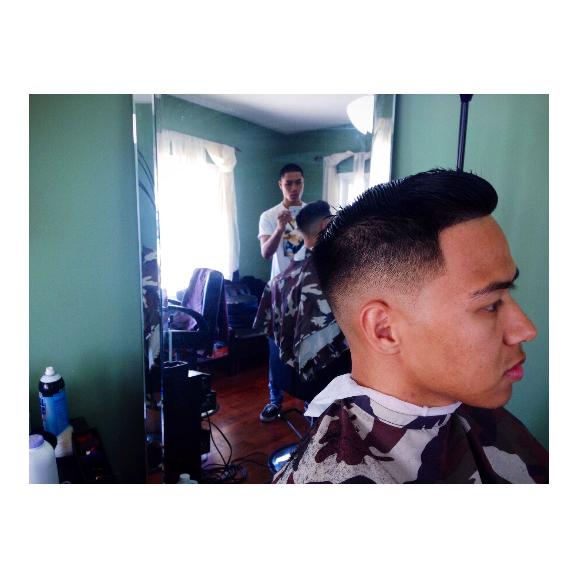 0 Mid Fade bover haircut Pinterest