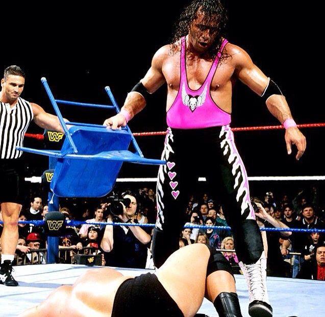 Bret Hart vs. Stone Cold Steve Austin | Steve austin, Stone cold steve,  Hitman hart