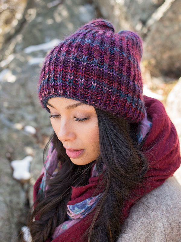 Berroco Millefiori Katka Hat Knitting Pattern 377 Pdf One Skein