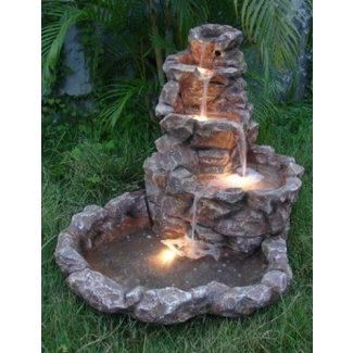 Outdoor Corner Fountains Ideas On Foter Backyard Water Fountains Water Fountains Outdoor Outdoor Water Features