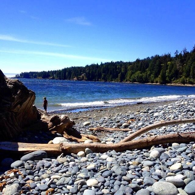 Vancouver Bc Beaches: French Beach, Vancouver Island BC