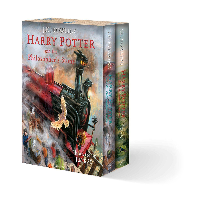 Harry Potter Illustrated Box Set J K Rowling Jim Kay Harry Potter Illustrations Harry Potter Potter