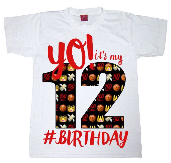 Yo Its My Birthday Shirt Emoji By WishesandkissesCo