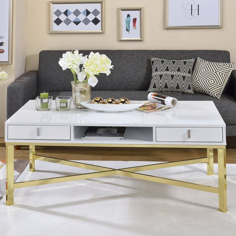 Odell Coffee Table Coffee Table Contemporary Coffee Table Stylish Coffee Table