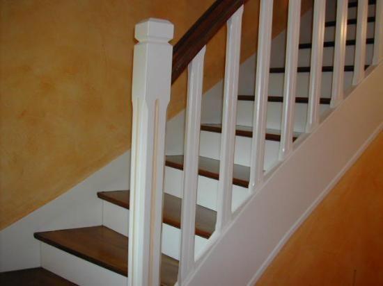 escalier peint | Travaux maison | Pinterest | Escaliers, Peindre ...