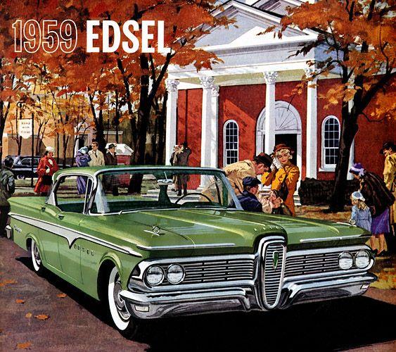 Plan59 :: Classic Car Art :: 1959 Edsel Ranger