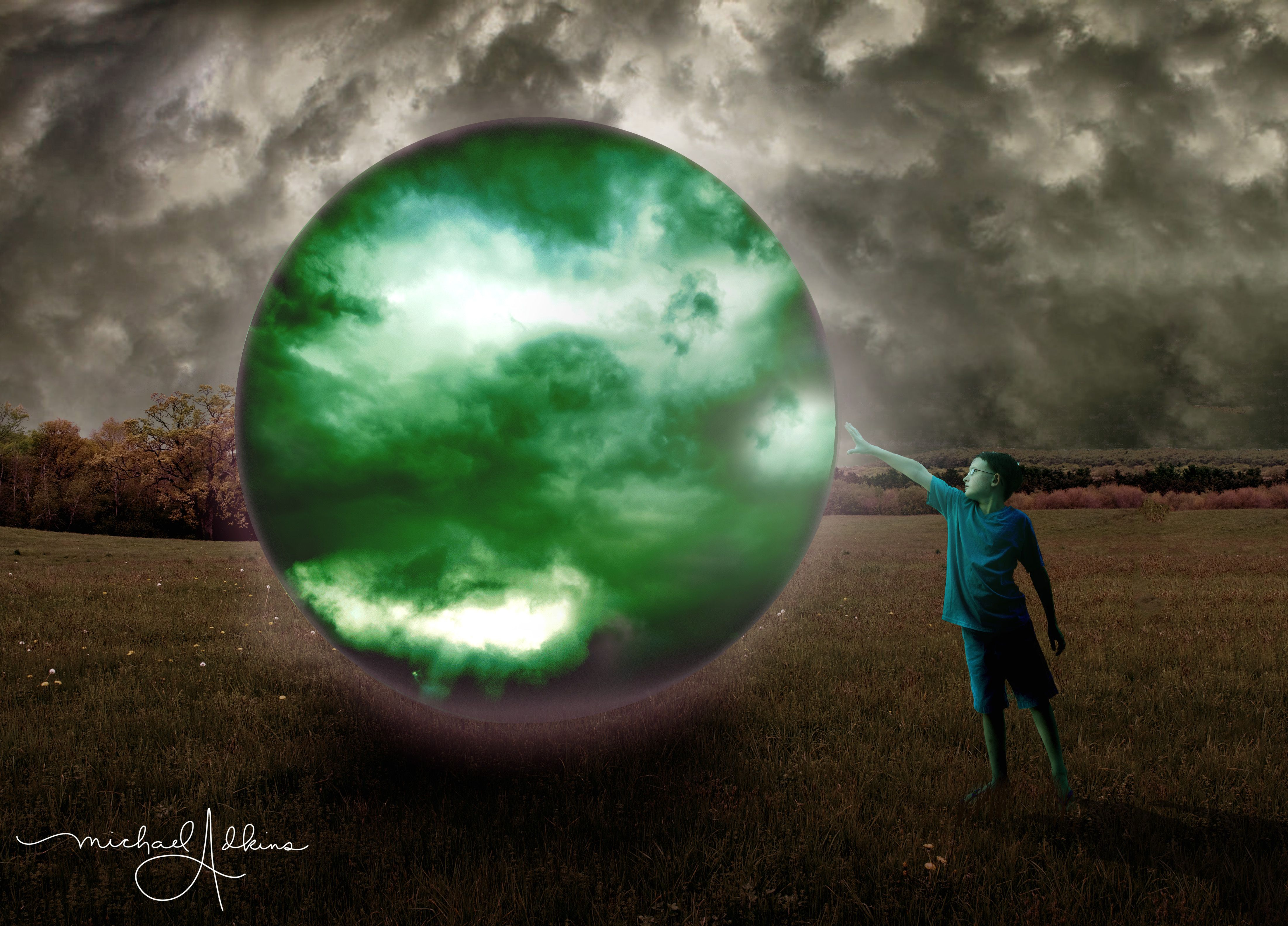 The Day The Earth Stood Still Composition Photography Art Photography Photoshop