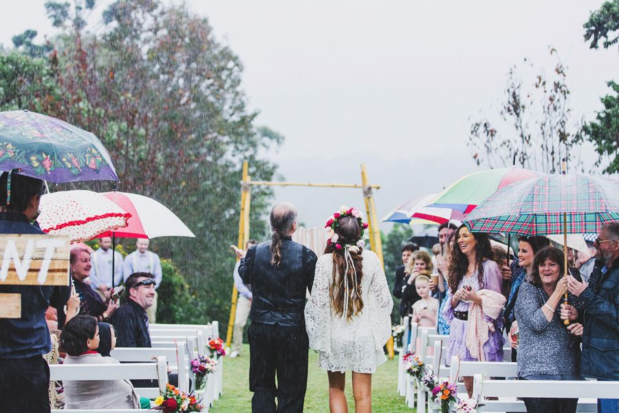 I kind of hope it rains on my big day... photo by Janneke Storm