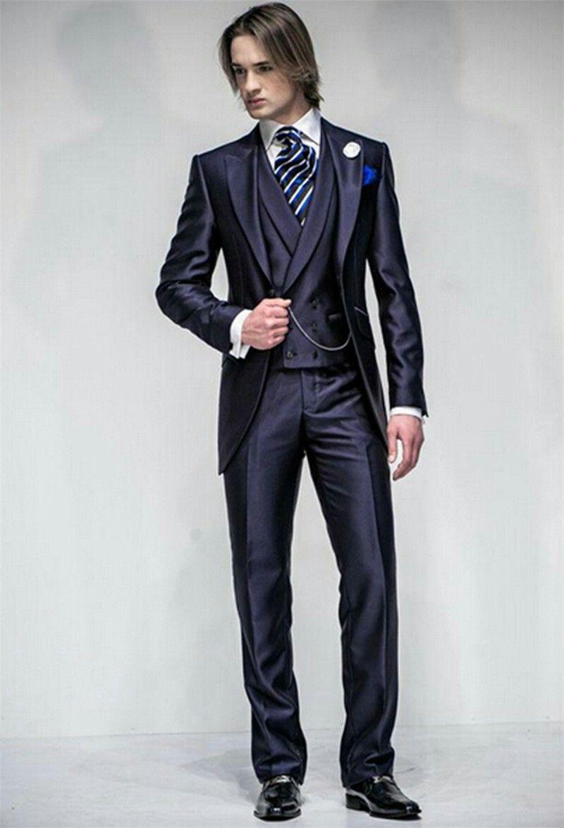 Groomsman Best Man Wedding Suit For Men
