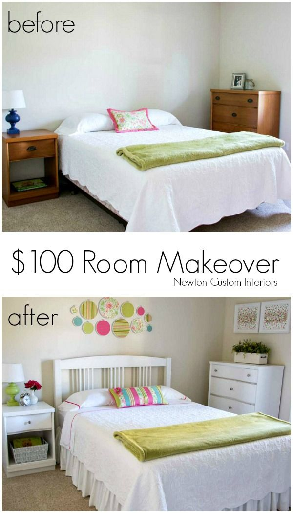 100 Room Makeover Newton Custom Interiors Bedroom Makeover Before And After Kid Room Decor Room Makeover