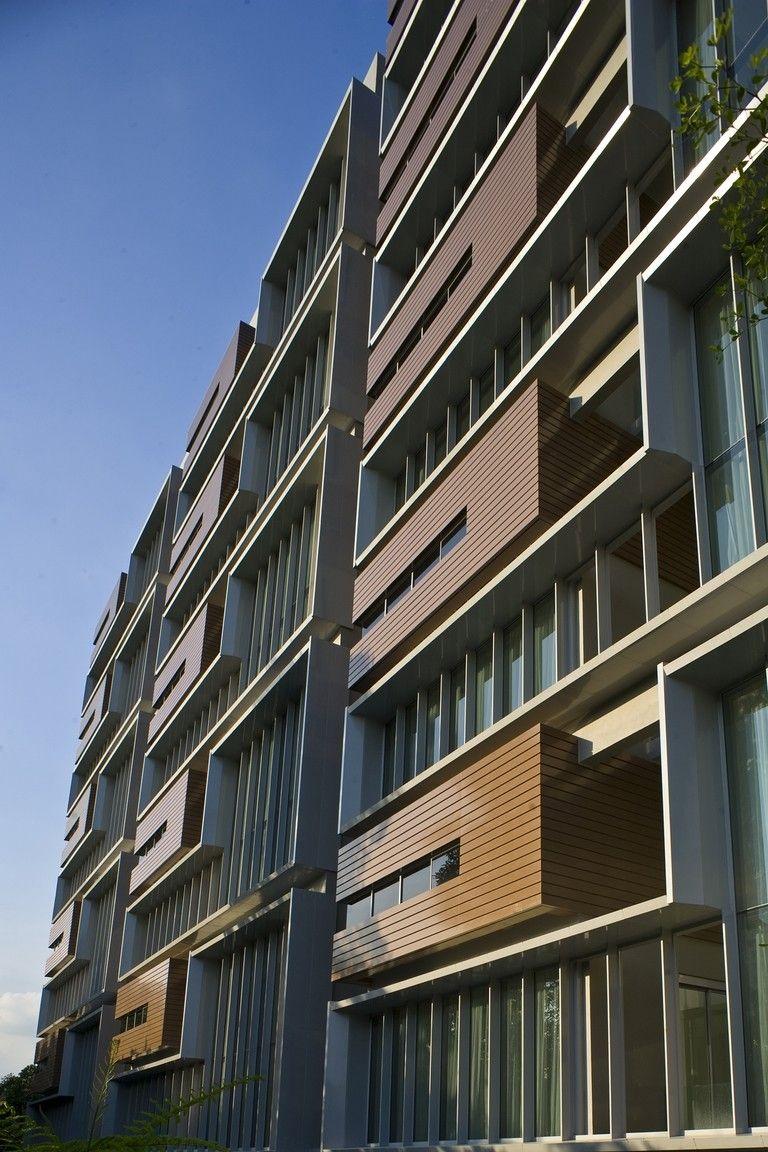 Building Exterior: West Facing Facade