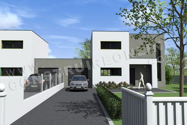 Réalisation De Maison CORDOUAN La Maison Contemporaine Maisons - Porte placard coulissante jumelé avec serrurier paris 75004