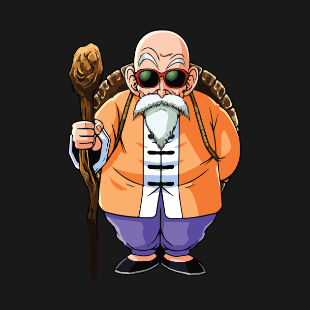 Check Out This Awesome Master Roshi Wisdom Design On Teepublic Z Arts Art Dragon Ball Z