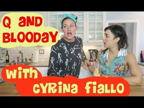 Q & Blooday with Cyrina Fiallo!