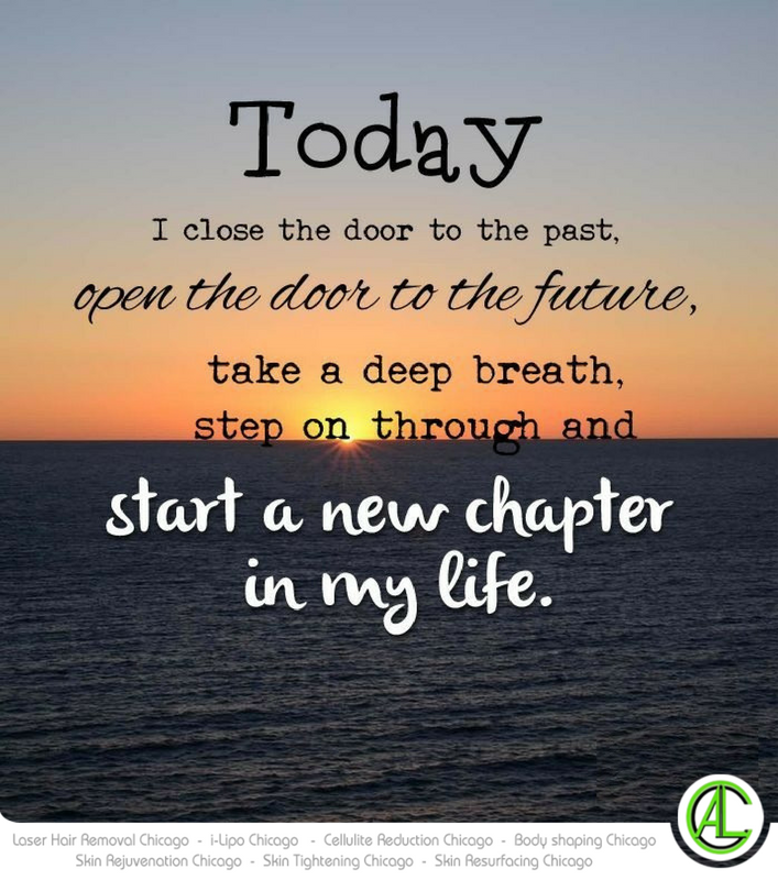 Open The Door To The Future. Start A New Chapter In Life