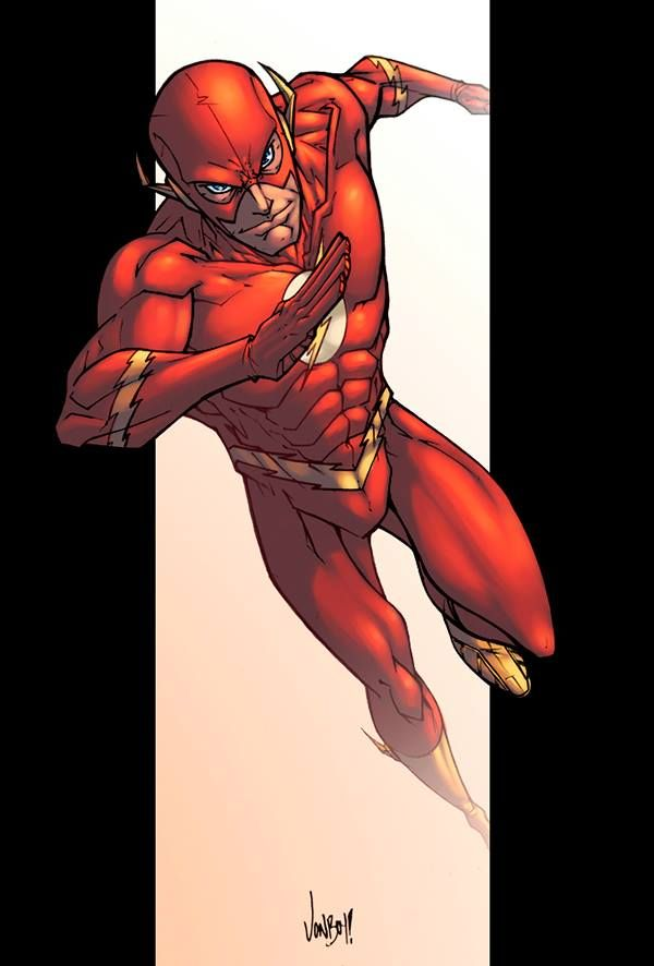 The Flash By Jonboy Myers Colours By Logicfun Flash Baby