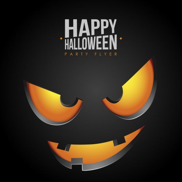 Halloween background design Free Vector | Halloween free resources ...