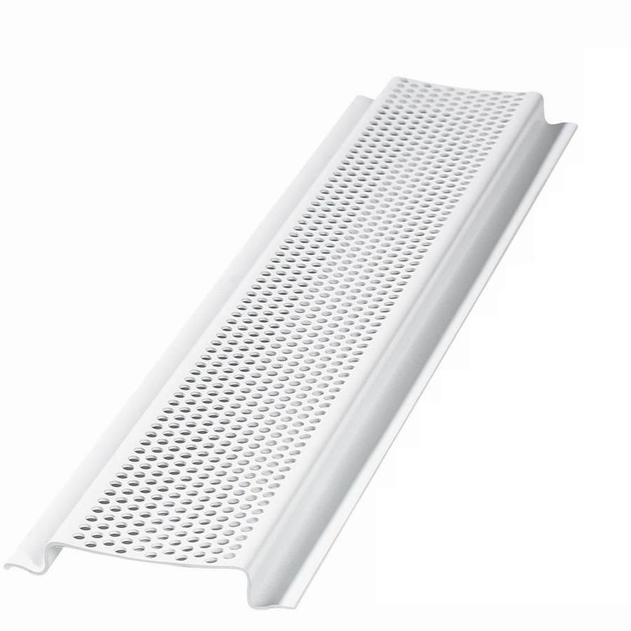Air Vent 96 In L White Aluminum Soffit Vent Lowes Com Vented Air Vent Aluminum