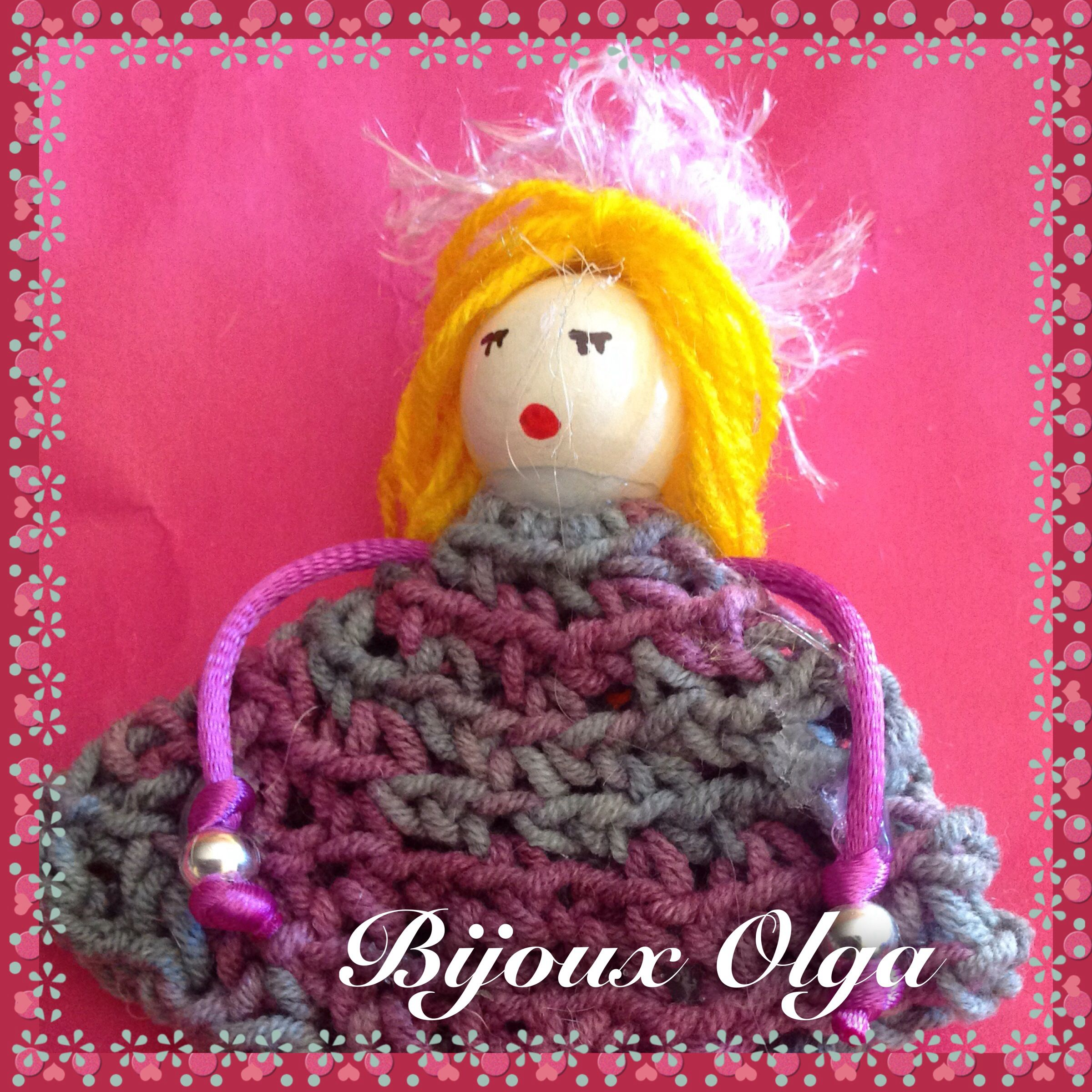 #muñequitabijoux #artesania #crochet #gantxet #ganchillo #handmade #fetama #hechoamano