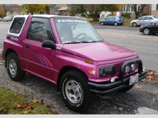 94 Geo Tracker This Seems Like A Good Second Car Car Dealer Cute Cars Cars Com
