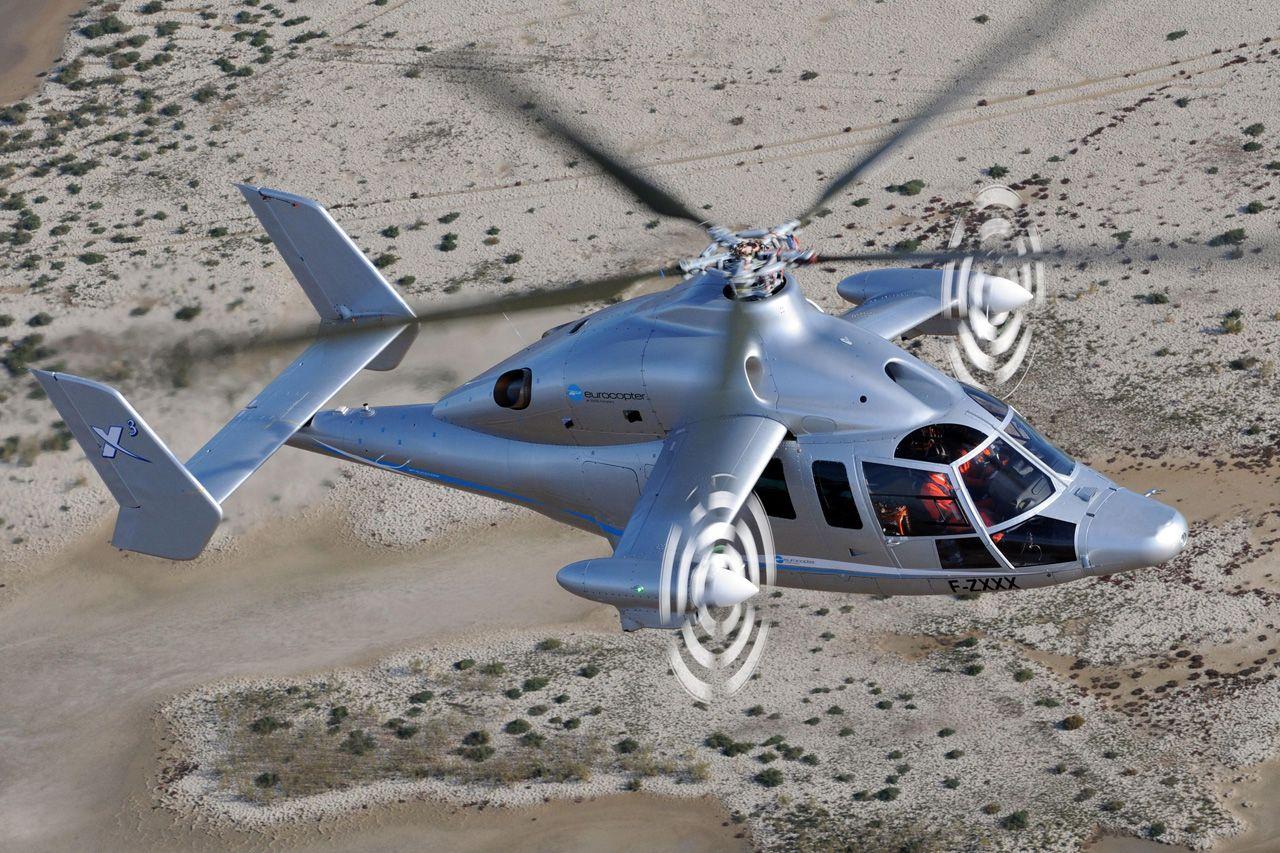 Elicottero X3 : X prototype photo eurocopter planes all round the world