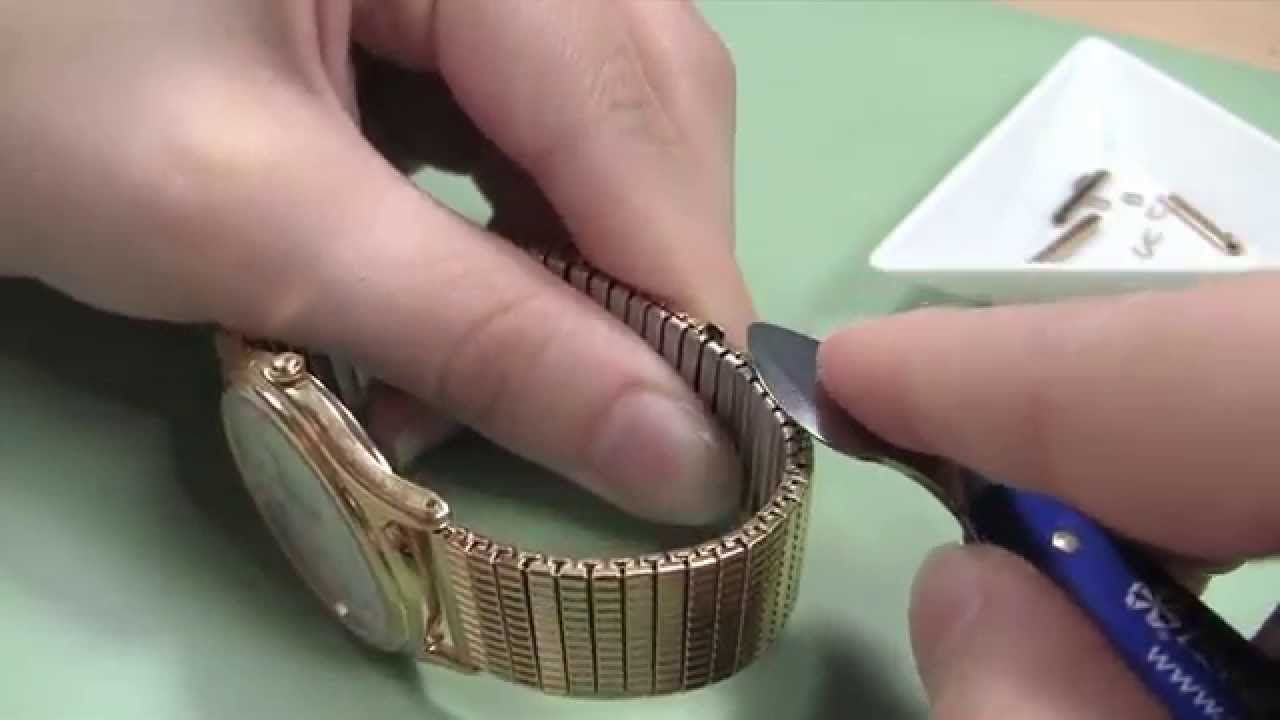 Watch Band Adjusting How To Remove U Clip Expansion