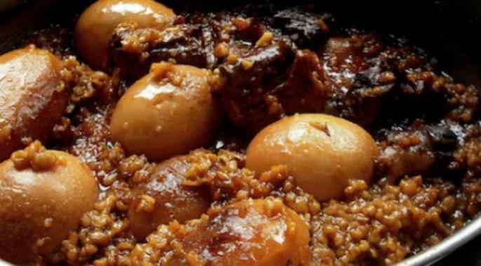 recette juive ashkénaze : tcholent ou hamin. ragoût de viande à l ... - Cours De Cuisine Cacher