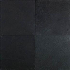Black slate tile - contemporary - floor tiles - dallas. Via Houzz ...