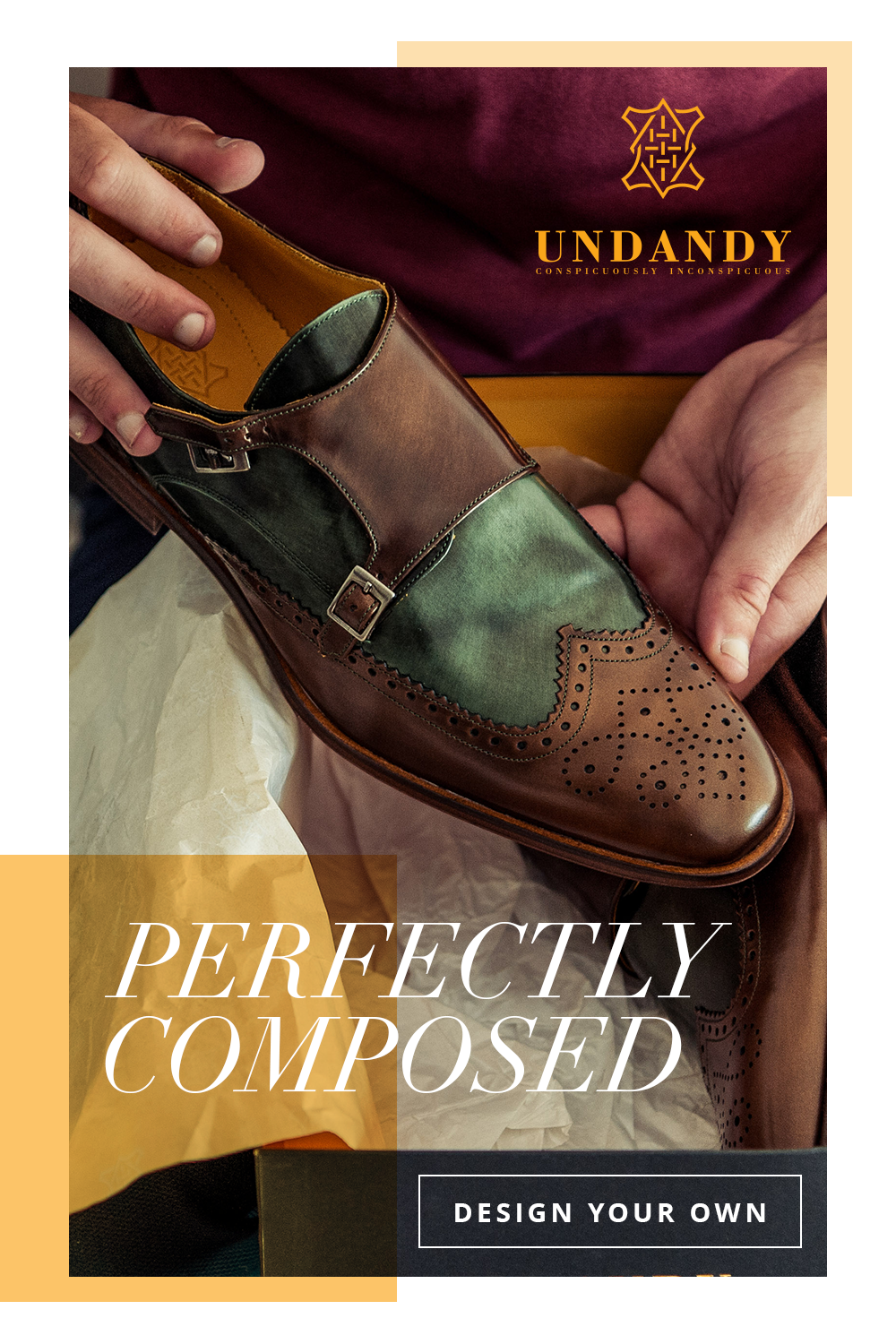 30c763c301a Undandy Custom Made Handcrafted Dress Shoes for Men. Design your s today!