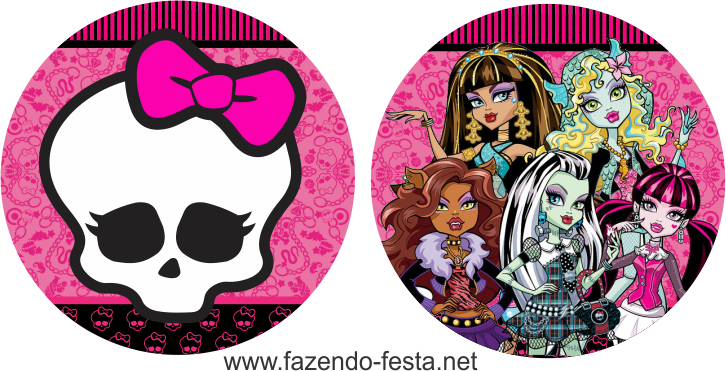 picture relating to Free Printable Monster High Invitations named Absolutely free Printable Monster Substantial Invites Obtain this No cost