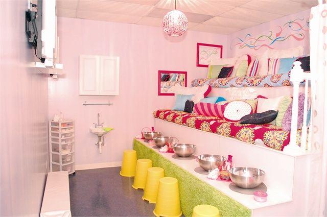 Charming Services And Sweet Treats Salon Decor Girl Salon Sweet Treats