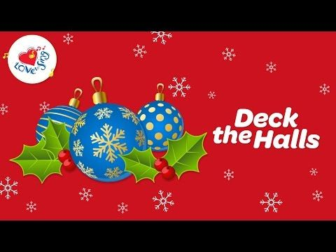 Deck the Halls and More! Christmas Playlist with Lyrics - YouTube   Christmas poetry, Christmas ...