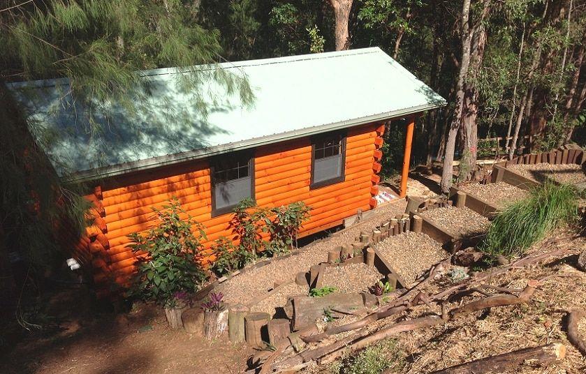 We Shipped A 12x24 Hunter Cabin Kit To Brisbane Australia Cabin Hunters Cabin Log Cabin