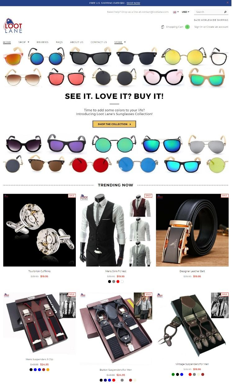 Super Online Offers A Loot Sunglasses Lane Selection Of At Great lJTK3F1c